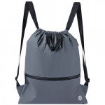 90 GOFUN Lightweight Urban Drawstring Backpack Gray