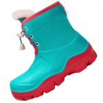 Honeywell Waterproof Non-slip Kids Boots Green/Red Size 27