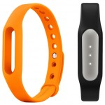 Xiaomi Mi Band Black + Mi Band Strap Orange