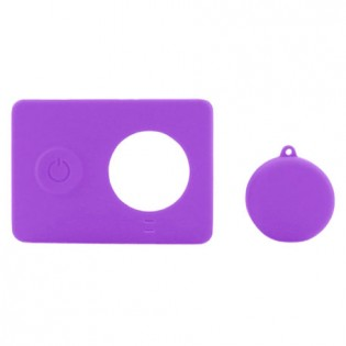Yi Action Camera Silicone Protective Case Purple