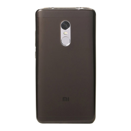Xiaomi Redmi Note 4X 3GB/32GB Silicone Protective Case Transparent Black