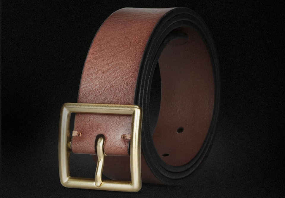 QIMIAN Cow Leather Belt Photo 1
