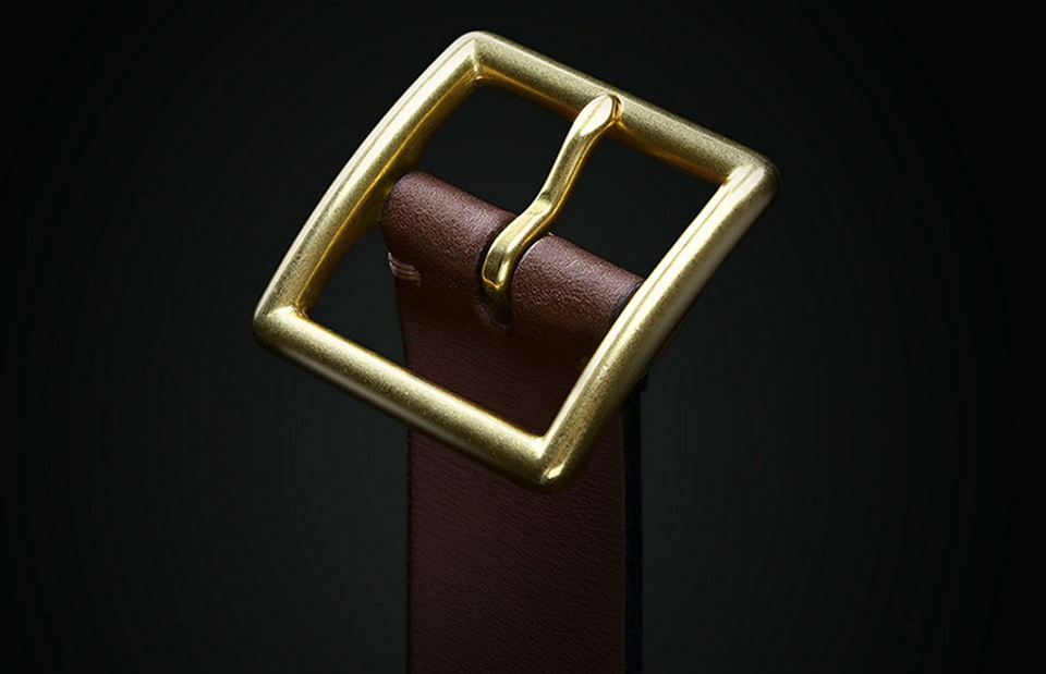 QIMIAN Cow Leather Belt Photo 6